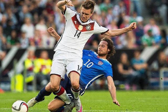 Nur eine Halbzeit Lust: Deutschland - USA 1:2