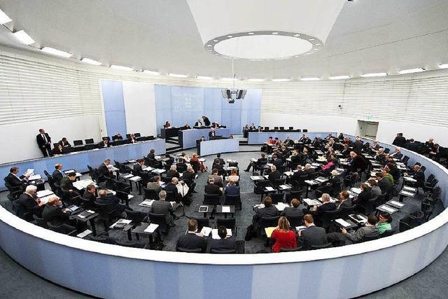 Landtag debattiert über Homo-Ehe