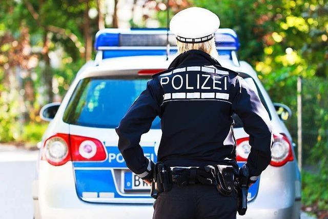 Polizeieinsatz wegen einer Mutprobe