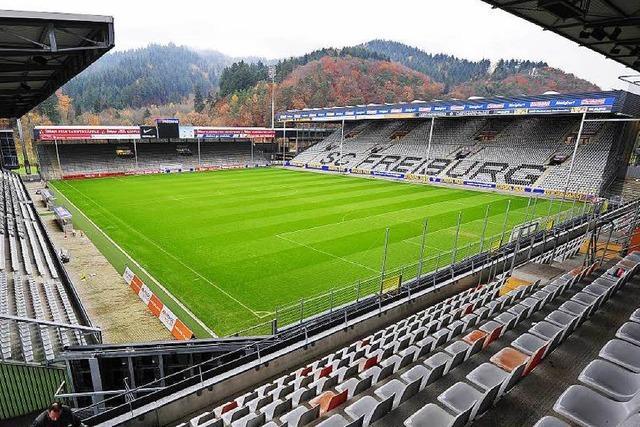 Business-Run: Zieleinlauf im Schwarzwaldstadion