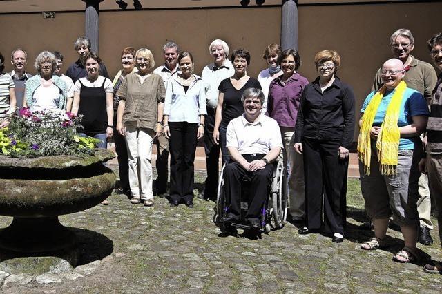 Der Kammerchor Offenburg singt in der Freien Waldorfschule