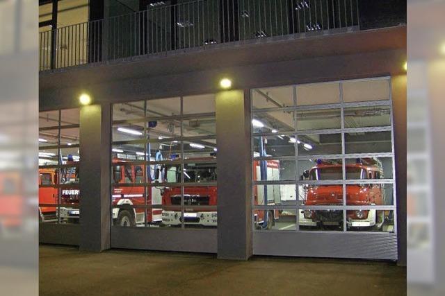 Am Sonntag wird das Gerätehaus der Feuerwehren Herdern und Zähringen gesegnet