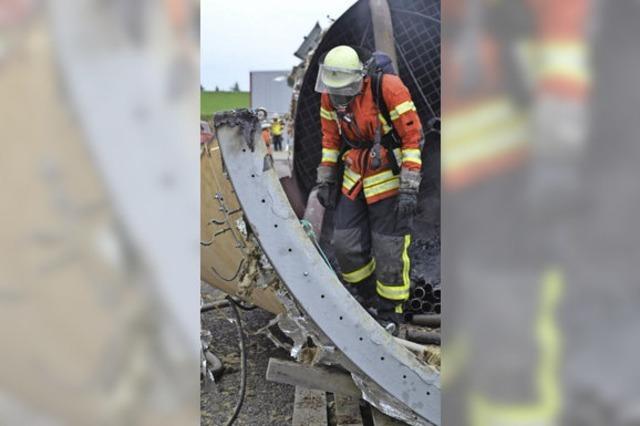 Feuerwehr verhindert größeren Schaden