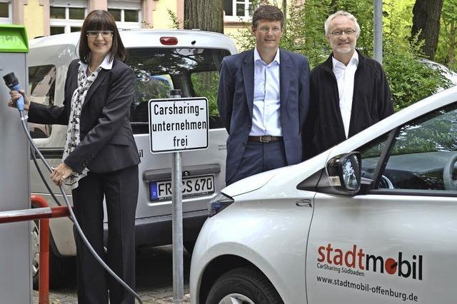 Ein erster Carsharing-Stromer für die E-Modellstadt