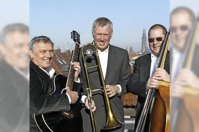 Das Trio Jatzige Musik tritt am Freitag im Freiburger Restaurant