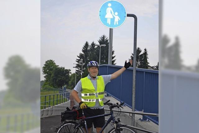 Fahrradunterführung ist nicht fahrradtauglich
