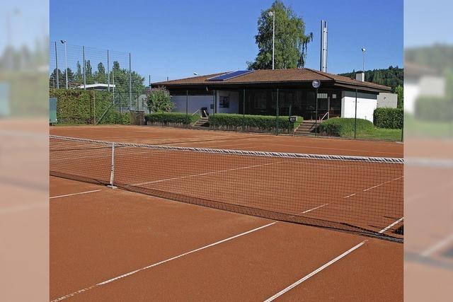 60 000 Euro fließen ins Tennis-Areal
