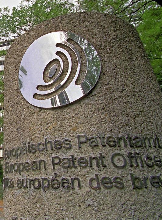 Bizarr geht es im Europäischen Patentamt zu.   | Foto: DPA