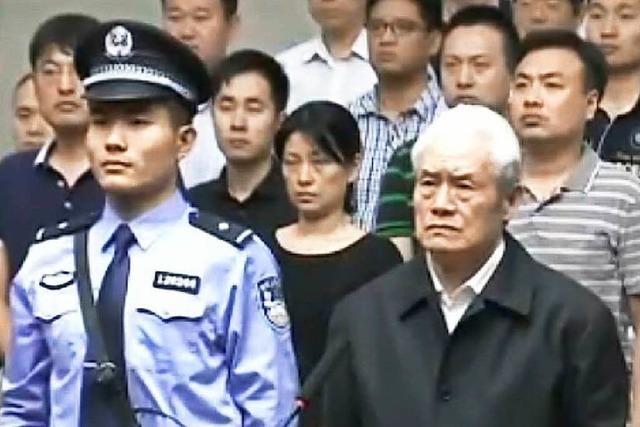 Lebenslange Haft für korrupten Polizeiminister