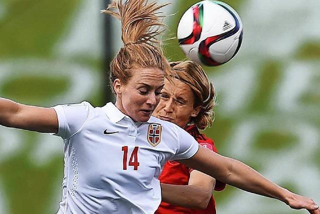 Frauen-WM: Deutsche spielen gegen Norwegen nur 1:1