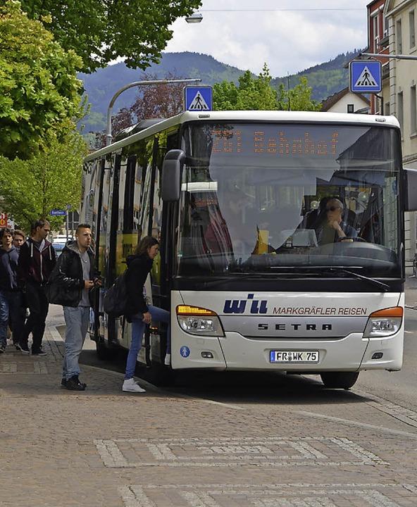 Auch zu dieser Frage soll die Umfrage ...usverkehr in Zukunft gestaltet werden?    Foto: Sarah Minarik