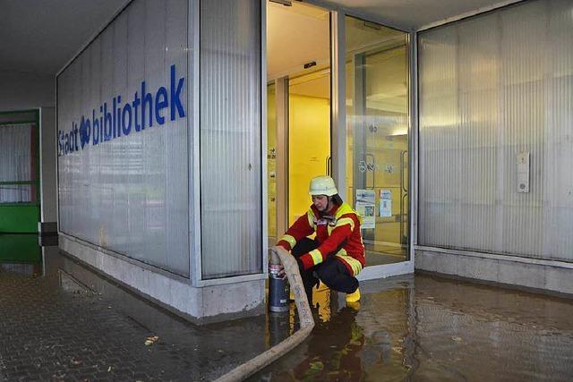 Unwetter im Anmarsch – Überschwemmungen in Rheinfelden