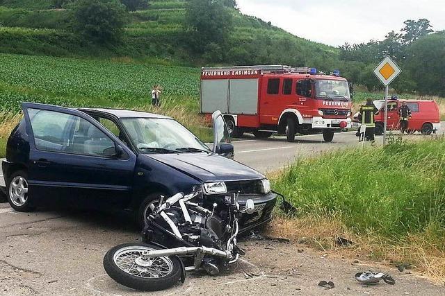 86-Jähriger übersieht Motorradfahrer – Biker stirbt
