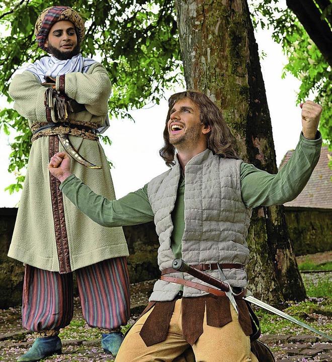 Robin Hood (Moses Scherer) kehrt endli... noch einen großen Gefallen schuldet.   | Foto: Matthias Kolodziej