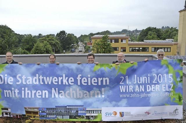 Stadtwerke Emmendingen laden zur 10-Jahr-Feier