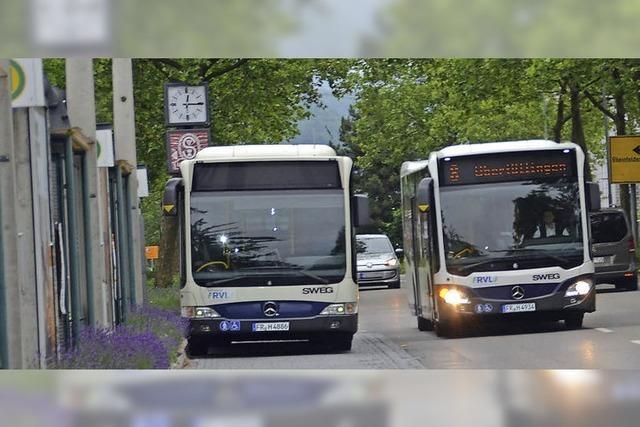Von der Linienänderung bis zum Umbau des Busbahnhofs