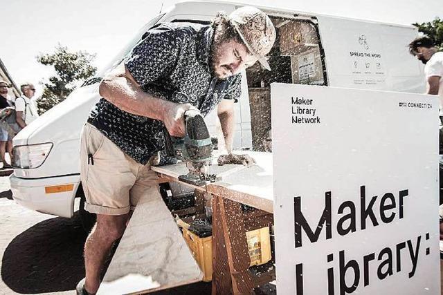 Eine Ausstellung auf den Spuren der Maker-Bewegung
