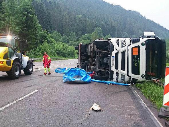 Unfall B31 Höllental