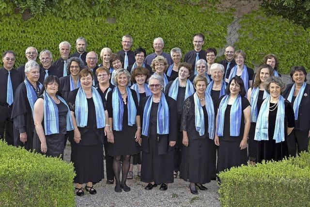 Der Kammerchor Bad Säckingen mit Schuberts Es-Dur-Messe im Fridolinsmünster