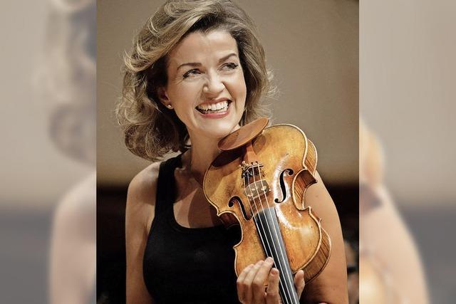 Violinrezital mit Anne-Sophie Mutter im Konzerthaus Freiburg