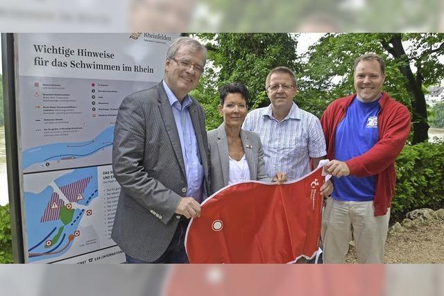 Rheinschwimmer gehen auf neuem Kurs an den Start