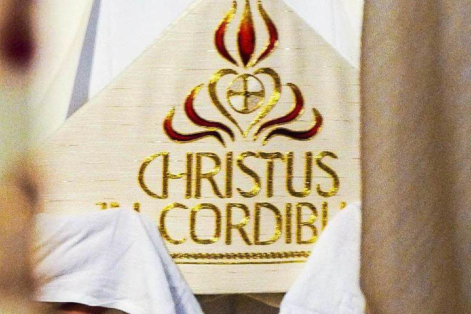 Mitra des Erzbischofs (Foto: Hildegard Hartmann)
