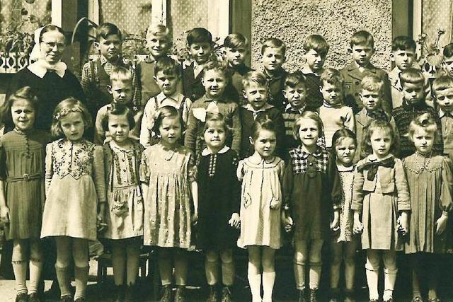 Der Kindergarten Schanz vor 75 Jahren