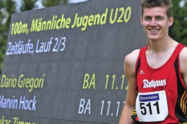 Neustädter 4x100-Meter-Staffel verbessert Uralt-Bestmarke