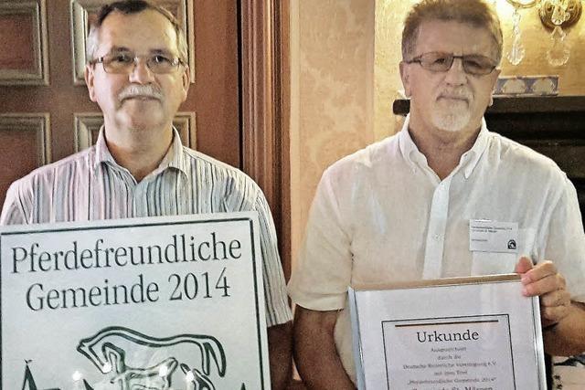 St. Märgen als Pferdefreundliche Gemeinde ausgezeichnet