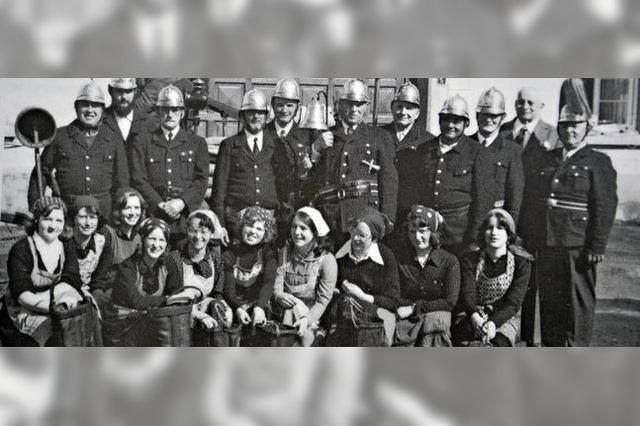 90 Jahre im Einsatz gegen Brände