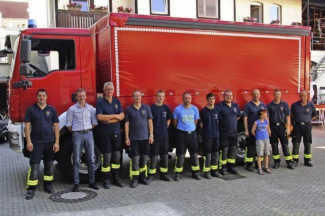 Verstärkung für die Feuerwehr