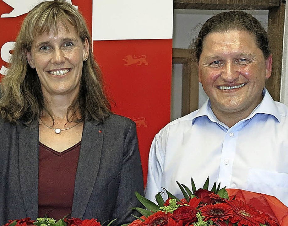 Birte Könnecke will in den Landtag,  Oswald Prucker ist Ersatzkandidat.     Foto: Dorothee Philipp