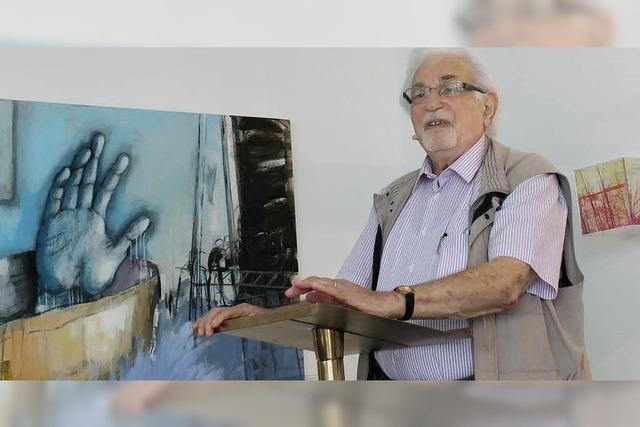 Shlomo Graber las aus seinem Buch über das KZ-Außenlager Görlitz
