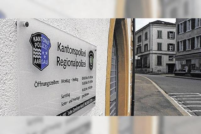 Bei Polizei im Aargau wird gespart