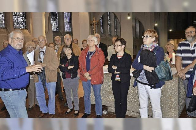 St. Georg bietet viele versteckte Kunstschätze