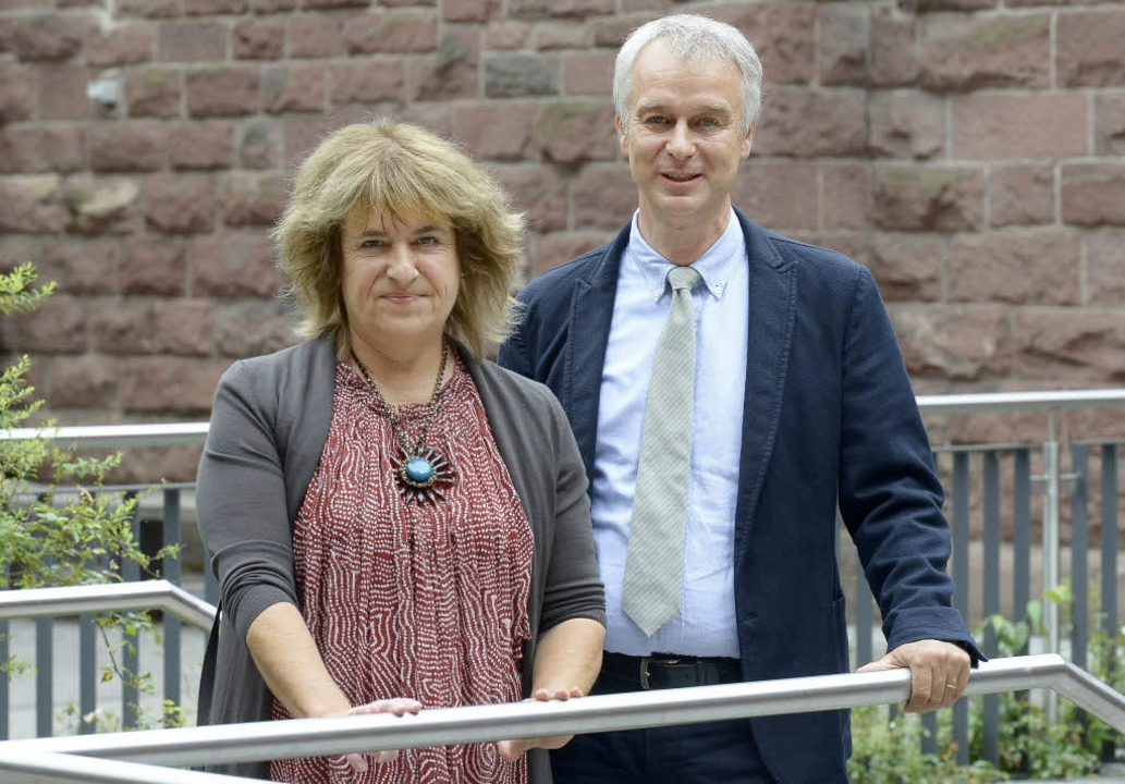 Das Leitungsteam des FG ist wieder kom...a Winnes-Goller und Stefan Gönnheimer   | Foto: Ingo Schneider
