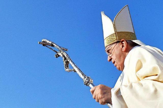 Papst Franziskus will Klimarevolution und sorgt für Diskussionen