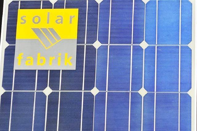 Freiburger Solar-Fabrik stellt ihre Produktion ein