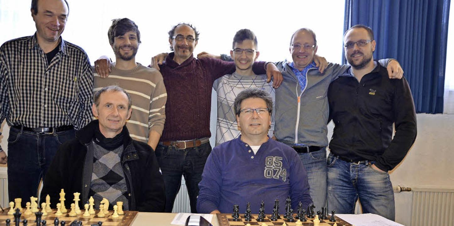 <Text>Das Siegerteam des Schachclub Ob... Bernd Banken, Andreas Wernet. </Text>    Foto: VErein