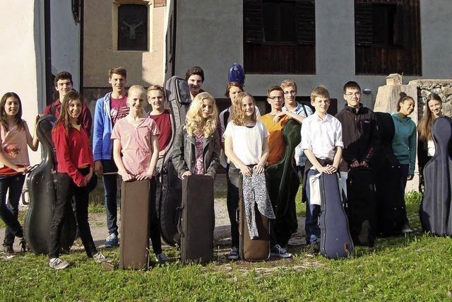 Semesterkonzert mit Schülern der städtischen Musikschule Müllheim in Müllheim