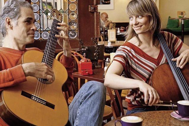 Südamerikanischen Rhythmen in den Kaffeewelten Maurer