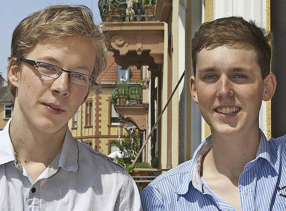Topplatz für Benedikt Jeschke und Joshua Linke     Foto: privat