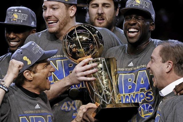 Golden State Warriors holen den Titel in der NBA