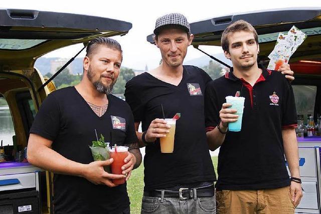 My-Cocktail-Taxi: Die neue Cocktailbar auf Rädern