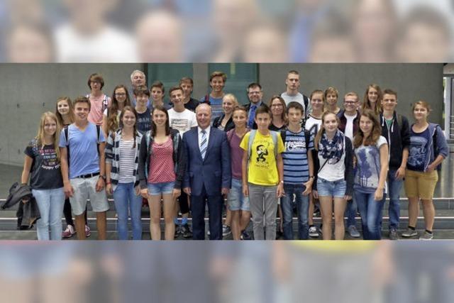 ENTER: Mitschüler stellten die Hauptstadt vor