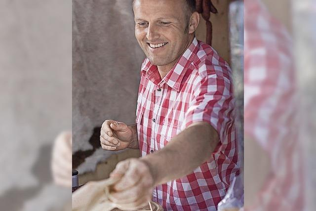 Kontakt mit den Erzeugern am Sonntag in Tegernau