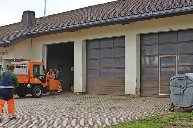 100 000 Euro für Bauhof