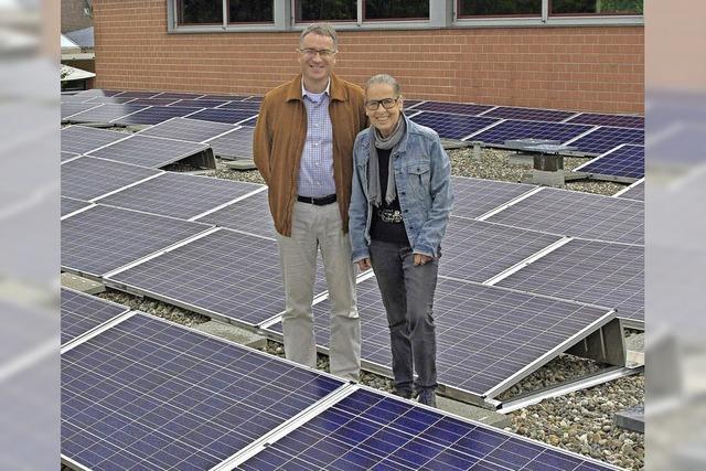 Solarstrom reicht für 255 Haushalte