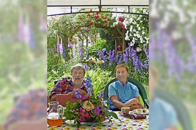 Für Edith Weber ist der Garten eine Seelennahrung