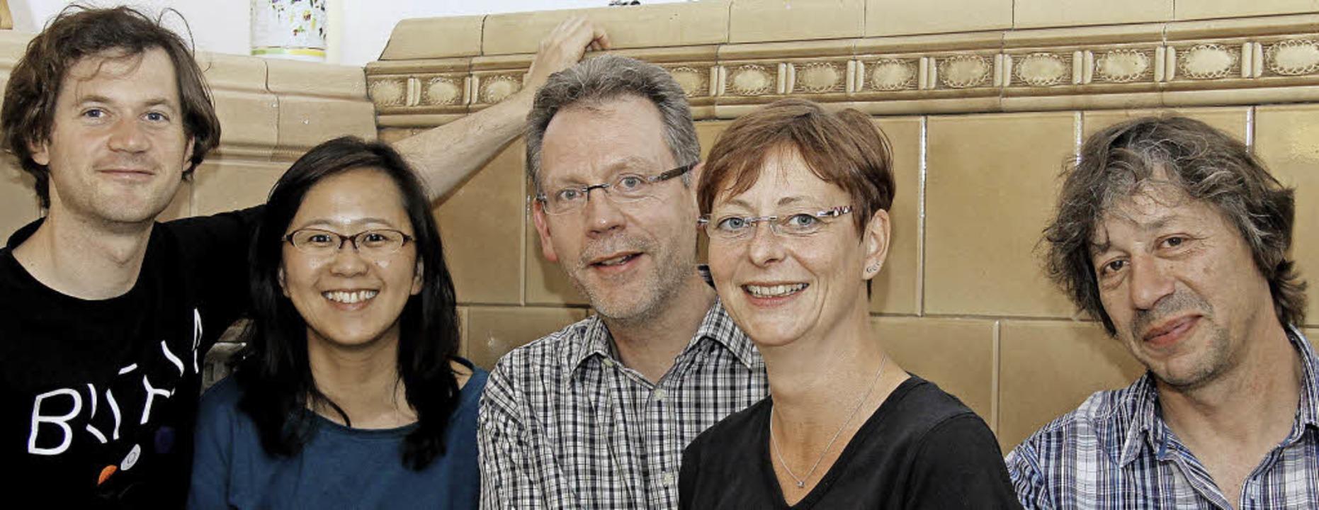 Bilden des Vorstand des neuen Vereins ...h, Cornelia Duerdoth und  Peter Weber   | Foto: zvg